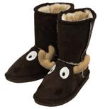 Toasty Toez Unisex Moose Slipper Boots for Children