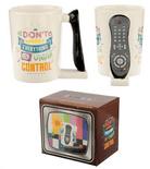 TV  Remote Control Shaped Handle Mug