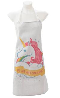 Unicorn - Just Baking Some Rainbows Apron
