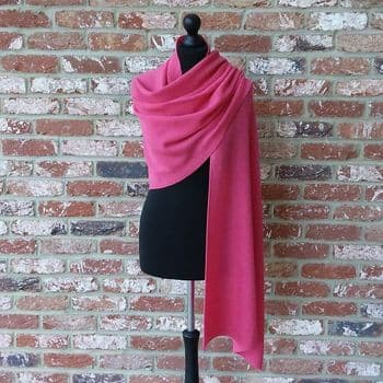 Longstone Supersoft Wrap Light Fuchsia