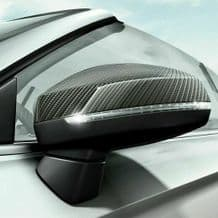 GENUINE AUDI A3 RS3 8V ACCESSORY CARBON DOOR WING MIRROR COVERS SET