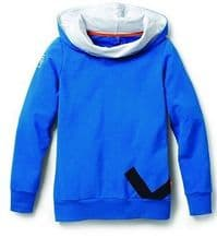 WOMENS BLUE HOODIE TOP - GENUINE VW UP COLLECTION MERCHANDISE