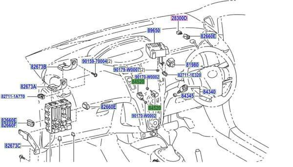 Genuine Toyota Clutch Switch 84520-42010 8452042010