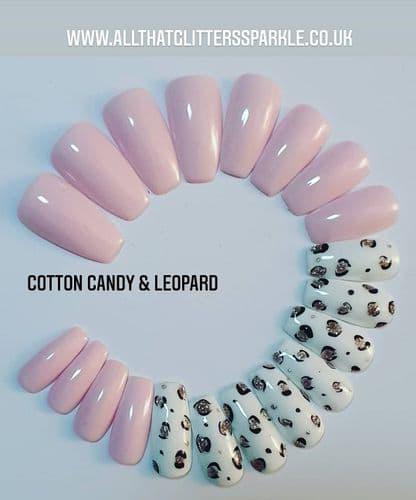 Cotton Candy Leopard 🐆