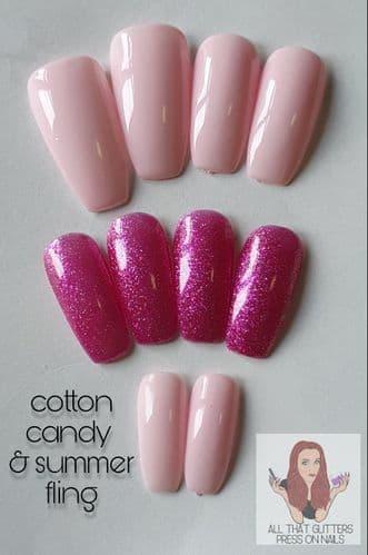 Cotton Candy & Summer Fling