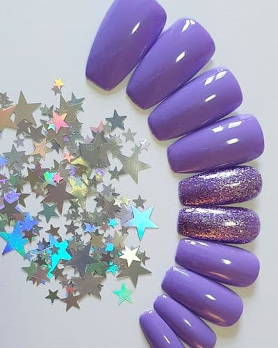 Lilac Lights with Wild Violet