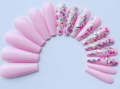 Pink Petals & Love Island Glitter