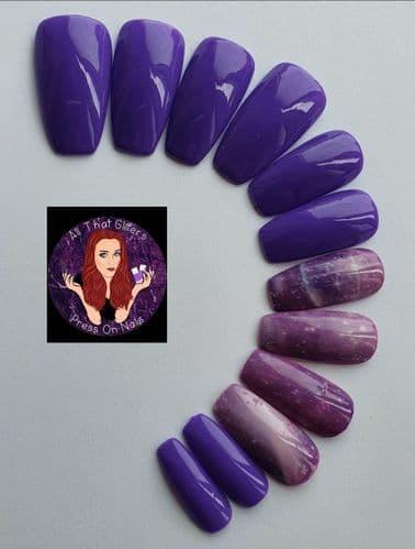 Vivid Violet & Violet Saturn