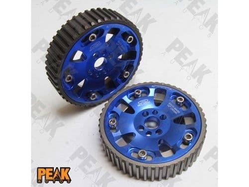 Adjustable Cam Gears 89-02 Nissan Skyline GTR RB20DET RB25DET RB26DET Racing Vernier Pulleys Blue
