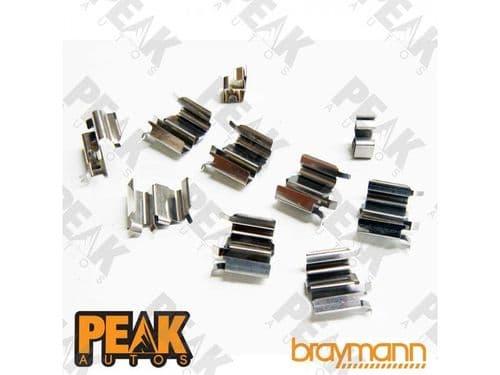 MX5 Front Brake Clips Springs Kit FITS: Mk1 1.8 MK2 1.6,1.8 MK3 1.8,2.0