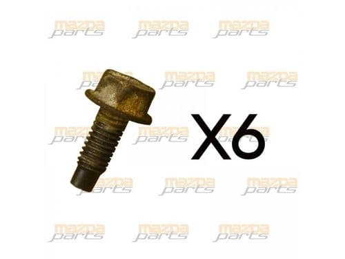 Mazda MX5 Front Engine Cover Bolts x6