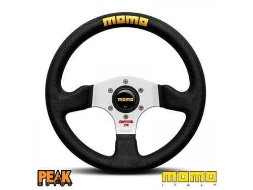 Momo Competition 320mm Leather Steering Wheel