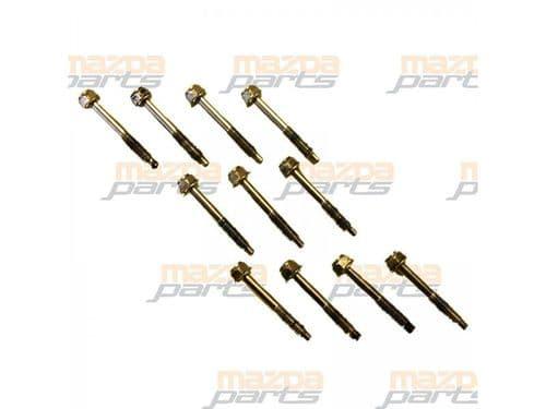 Mx5 Mk1 1.6 1.8 chrome cam cover rocker cover bolts