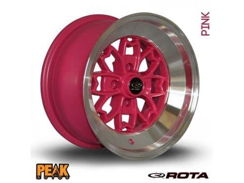 "Rota Aleica 15x9"" ET10 Pink 4x100"