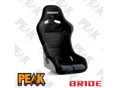 BRIDE Vios III Racing Bucket Seat w/silver FRP