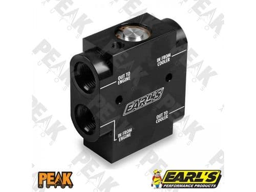Earls 501ERL Oil Thermostat 8AN fittings