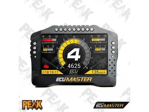 "ECU Master ADU5 5"" Digital Dash Display Custom Race"