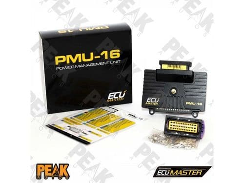 ECU Master PMU 16 Power Distribution Module + Data Logger