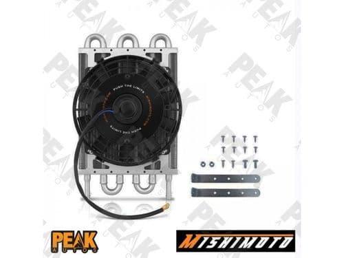 Mishimoto Heavy Duty Transmission Oil Cooler + Fan + Mounting Kit 12v