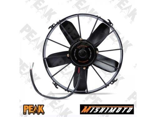 """Mishimoto RaceLine Electric Fan 10"""" 1600fm + Fan Mount Kit 12v"""