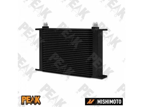 Mishimoto Universal 25 Row Oil Cooler -10AN Fittings BLACK
