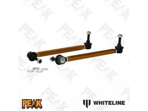 Whiteline Front Anti Roll Bar Drop Links Adjustable ARB BMW E46 01-05
