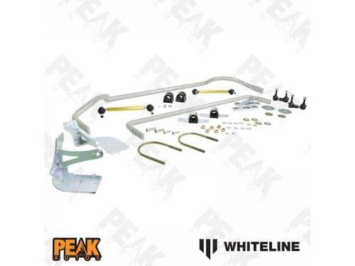 Whiteline Front + Rear Anti-Roll Bar Kit Adjustable HONDA Civic FN2 Type R 06-11