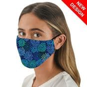 Blue Fireworks  - Face Mask /Face Covering