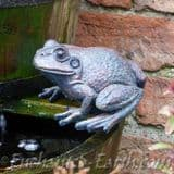 Bronze Effect Garden Frog- Two Designs to choose from