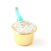 Champagne in a Ice Bucket with ice -3cm