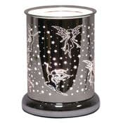Dancing Fairy - Silver  Silhouette Electric Wax Melt Burner