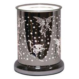 Dancing  Fairy - Silver  Silhouette Electric Wax Melt Burner.
