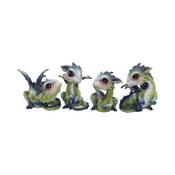 Dragon World - Curious Hatchlings  - 9cm