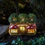 Elfridges - Solar - LED Colour changing Fairy House