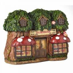 Elfridges - Solar - LED Colour changing Fairy House.