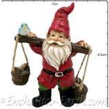 Enchanted Woodland Fairy - Bertie the Bucket Gnome