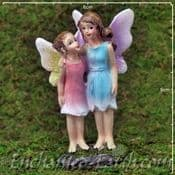 Enchanted Woodland Fairy - Fairy Standing Sisters