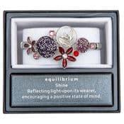Equilibrium - Moody Tones Flower Bracelet.