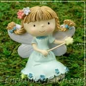 Fairy Friends -  Bam bam in Blue - Toddle  Fairy  7cm