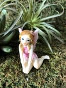 Fairy Garden Fairy Dust Fairy  - Penny - Choose from bright or pastel pink