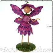 Fairy Kingdom Metal  Fairy - Christie the Pink Chrysanthemum Fairy - 10cm