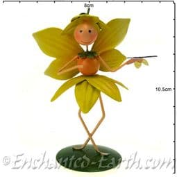 Fairy Kingdom Metal  Fairy -The Daffodil Fairy - Dinkie.