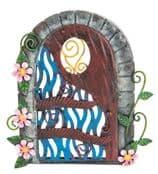 Fairy Kingdom  Opening Metal Fairy Door - Secret Garden Door