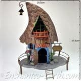 Fairy Kingdom - Pixie Manor - Pixie Willow Hat Palace -  33cm