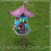 Fairy Kingdom - Tall Magical Crooked Cottage - 41cm