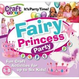 Fairy Princess Birthday Party Set  (for 6 Children).