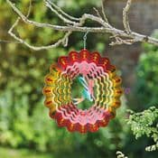 Fairy Rainbow Spinner  -  Hanging Wind Spinner  - 12""