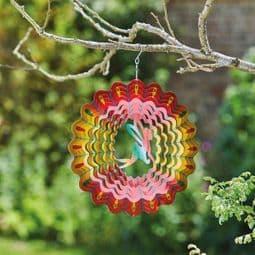 Fairy Rainbow Spinner  -  Hanging Wind Spinner  - 12