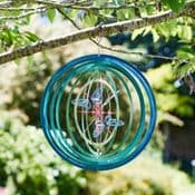 Fantasy Butterfly Spinner -  Hanging Wind Spinner  - 12""