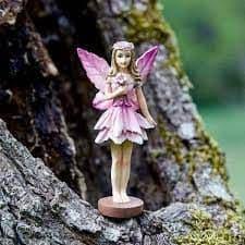 Fantasy Forest Fairy - Nerine - 10cm Tall.